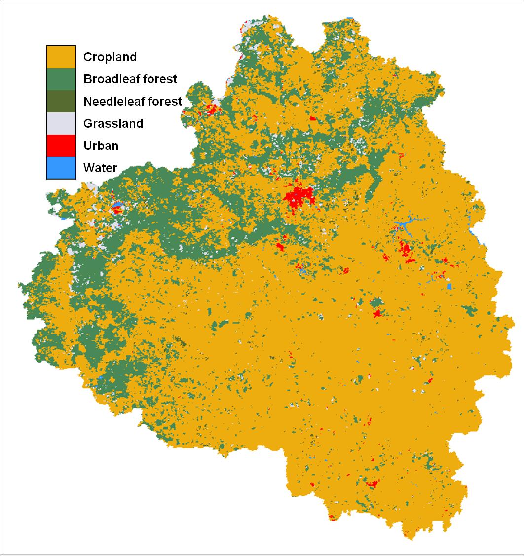 ImagineS Crop maps